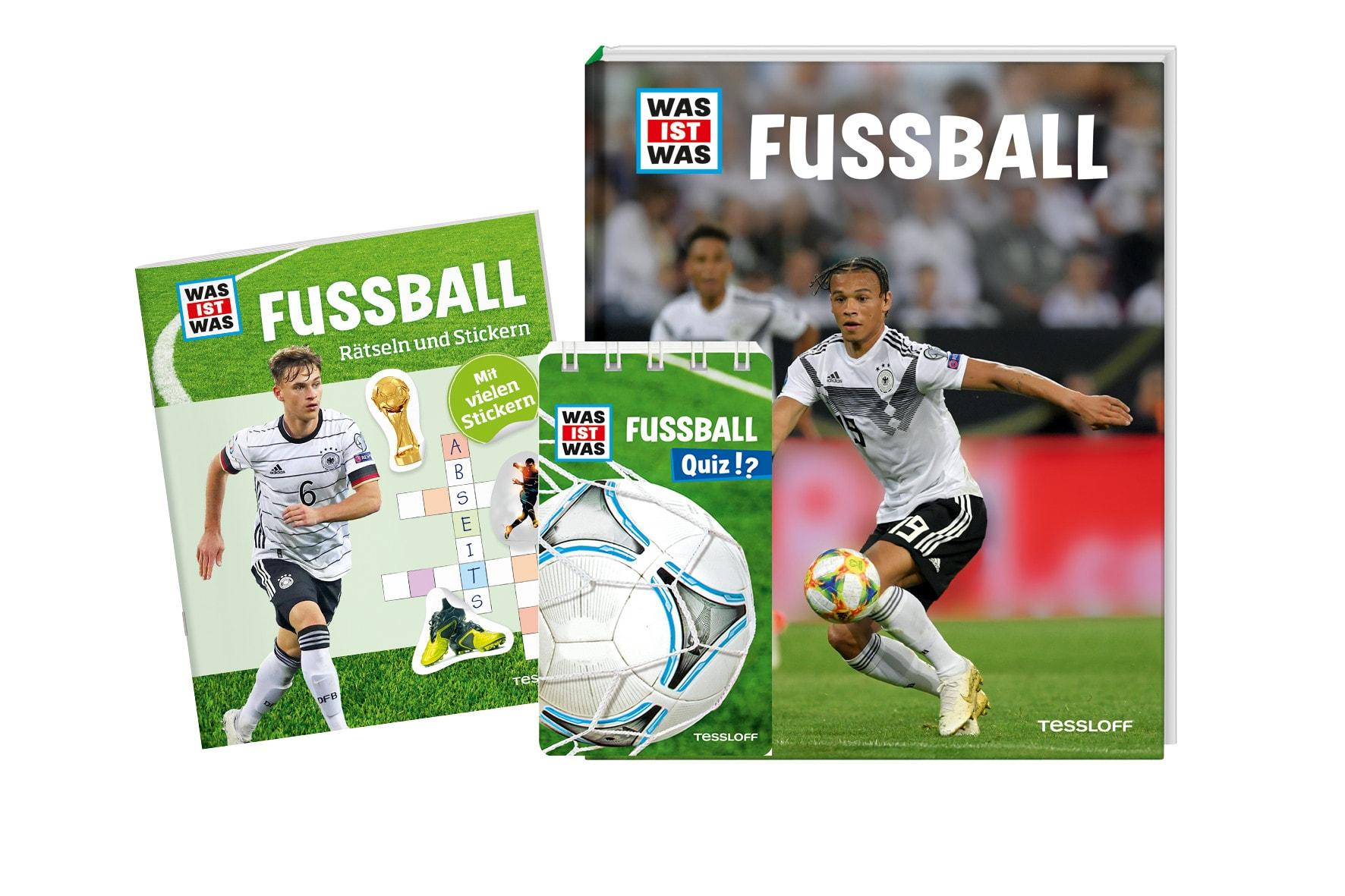 Wir lassen die Herzen junger Fußballfans höher schlagen! Blizz verlost WAS IST WAS-Bücher zum Thema Fußball