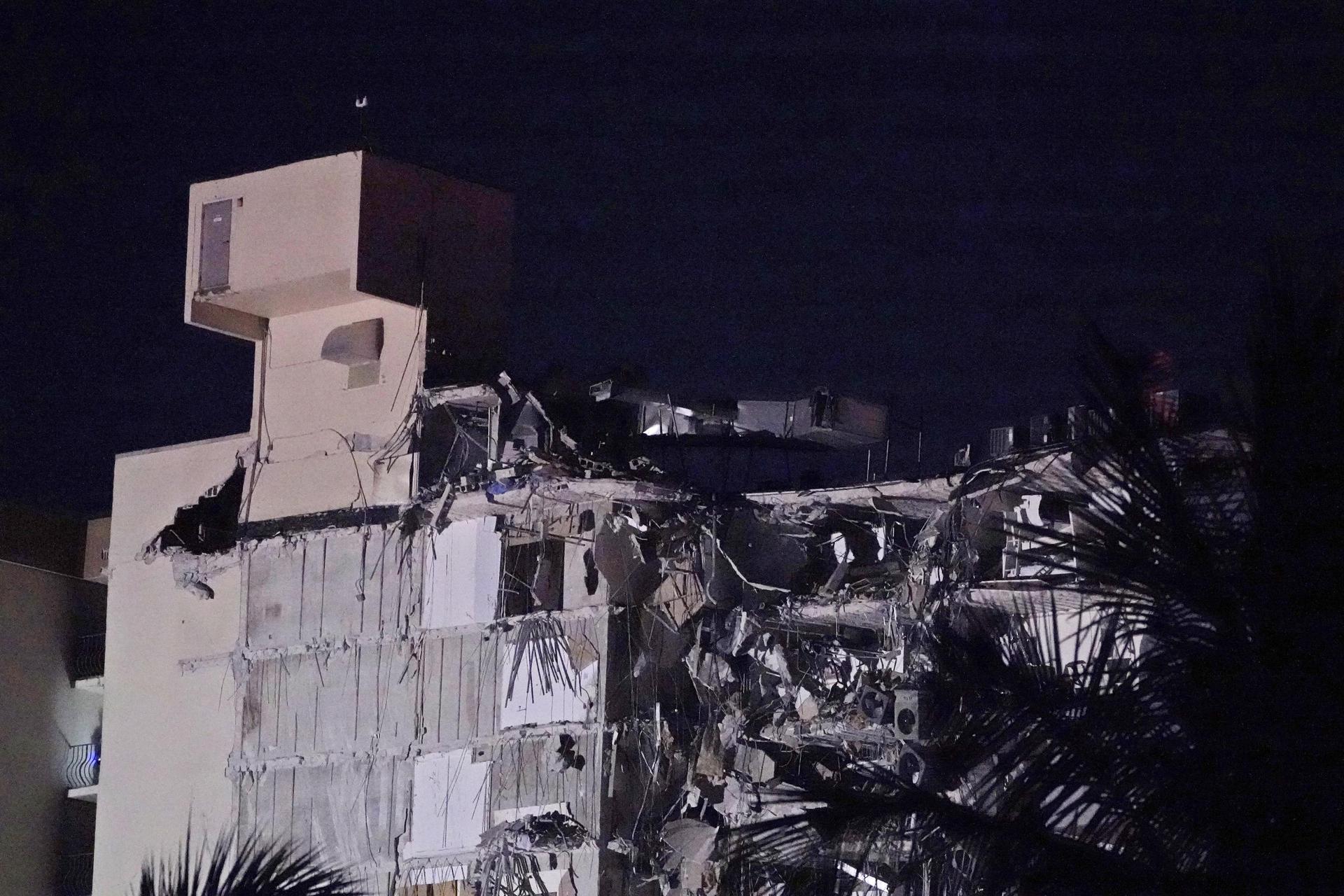 Großeinsatz nach Gebäude-Einsturz nahe Miami Beach Notfall