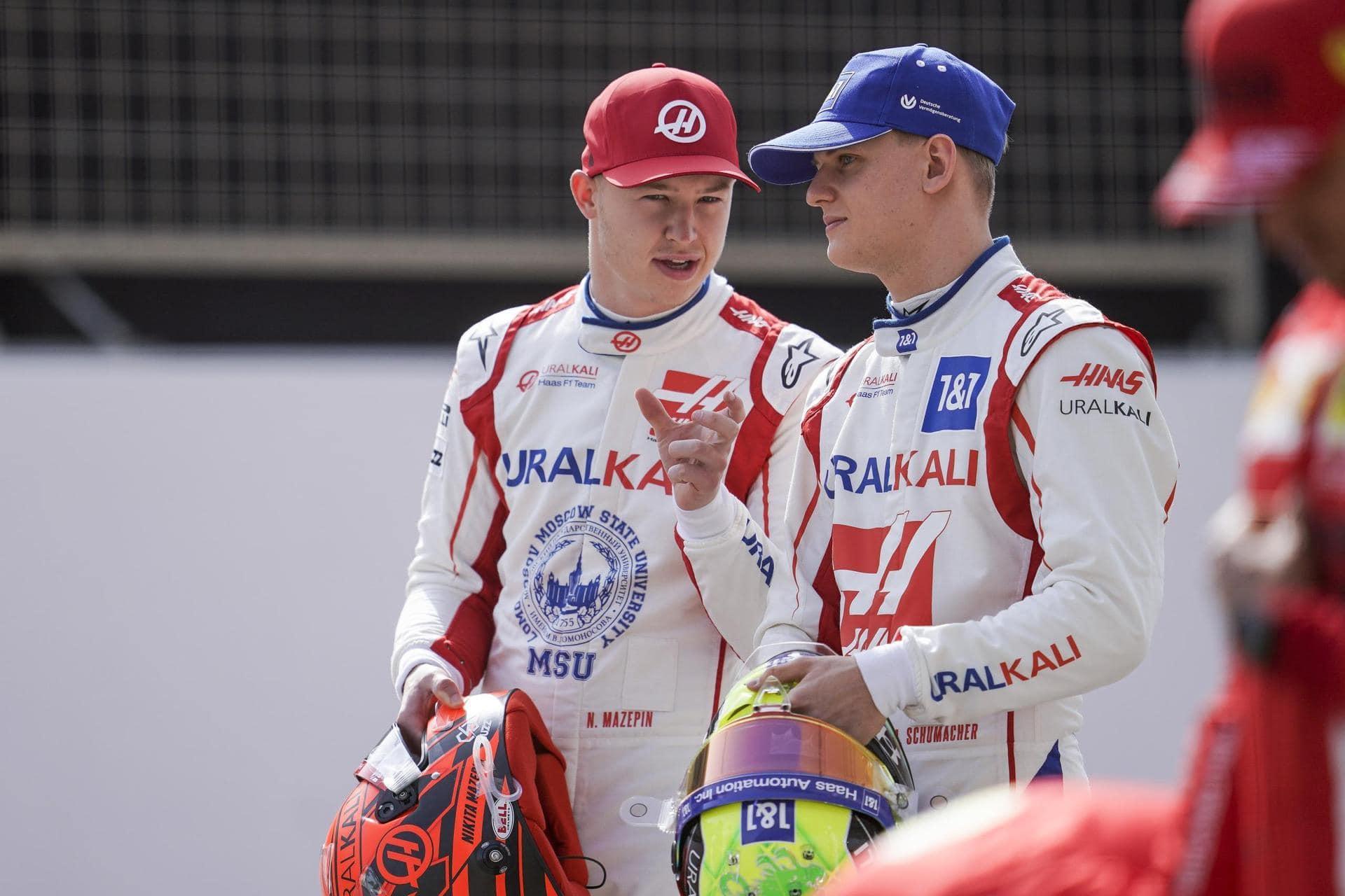 Haas-Piloten: Mick Schumacher und der Problemfall Masepin Formel 1