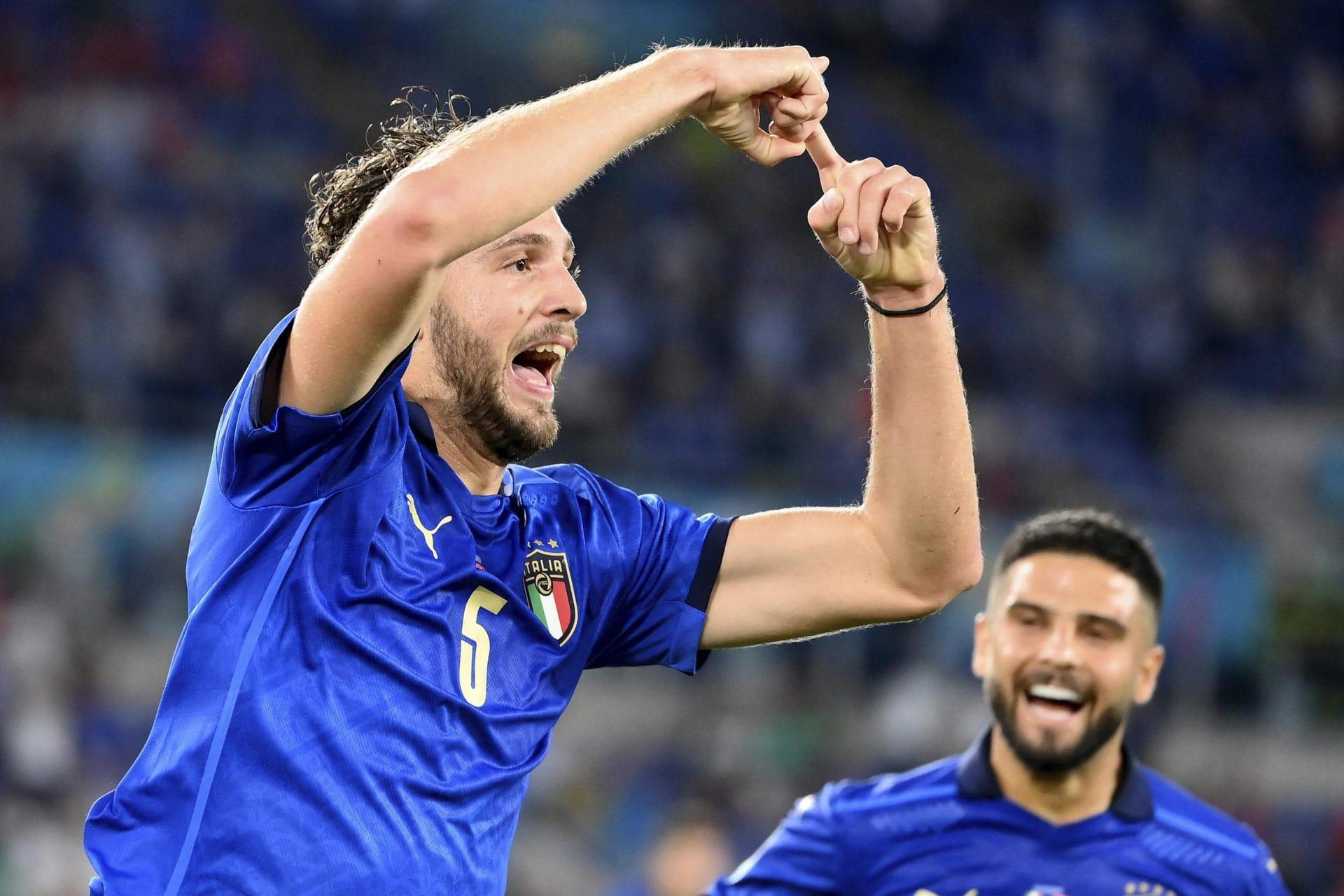 Italien löst das Achtelfinal-Ticket Fußball-EM