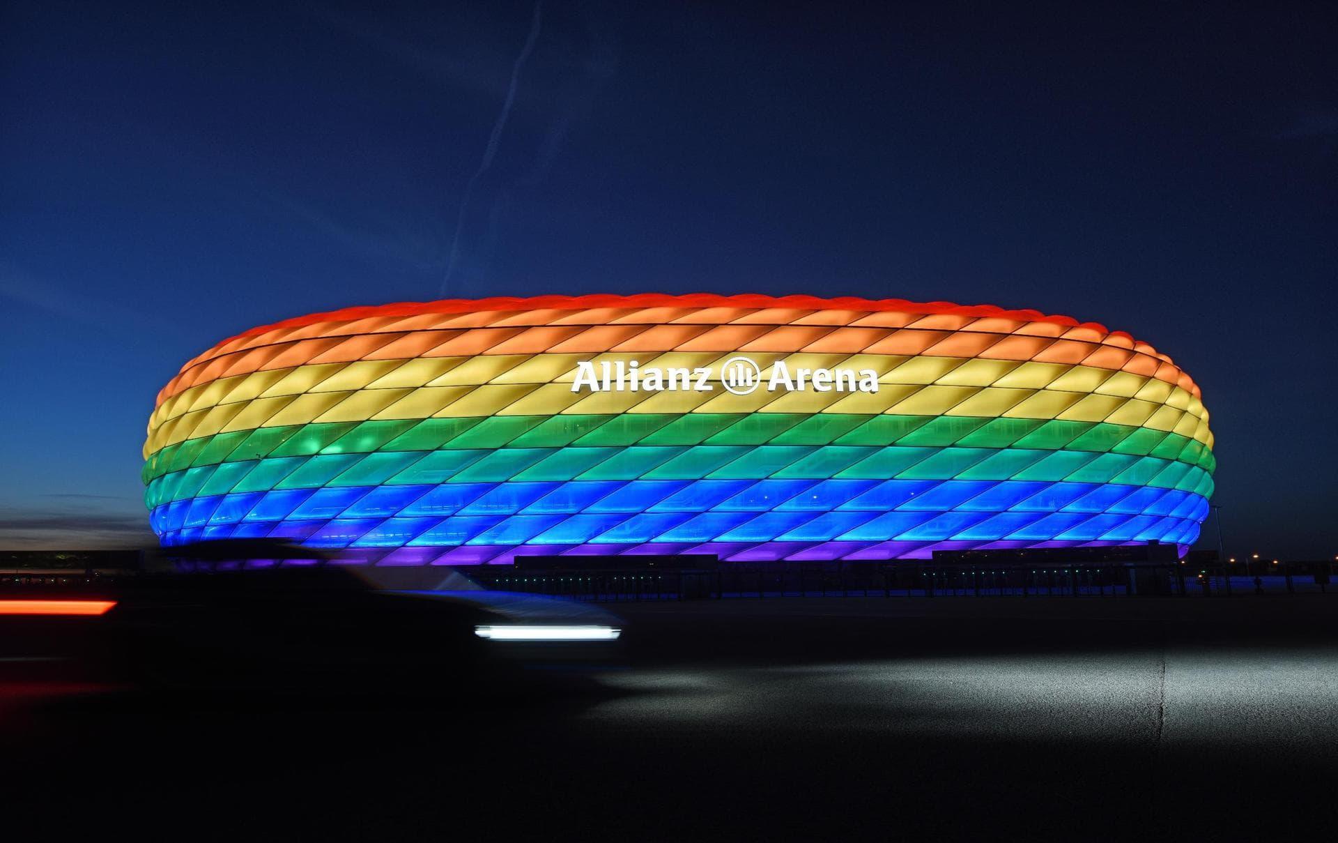 Keine Ausnahme für München: EM-Stadion ohne Regenbogenfarben UEFA-Beschluss