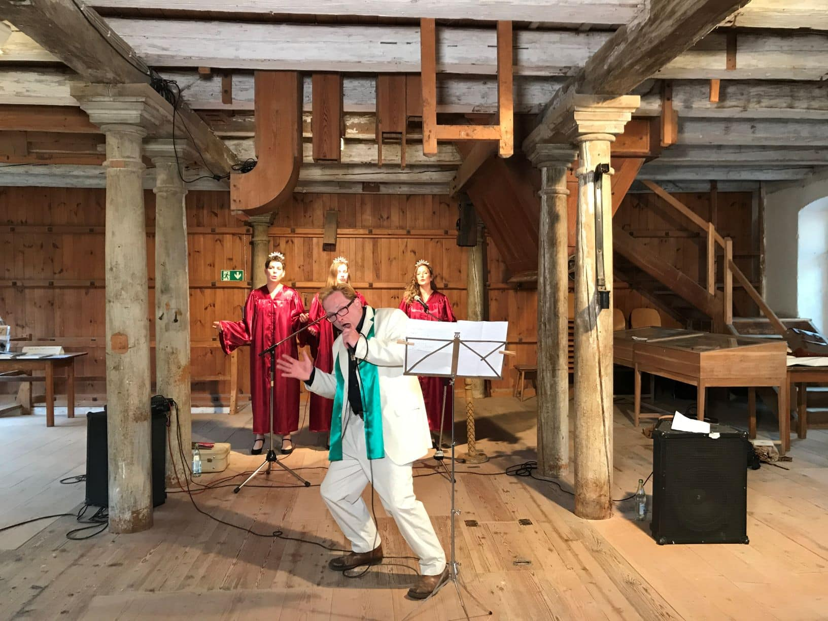 """Dobner und Klein machten Alte Mühle zur Kirche Erfolgreiches Konzert im Rahmen von """"Kultur lebt!"""" im Landkreis Regensburg"""
