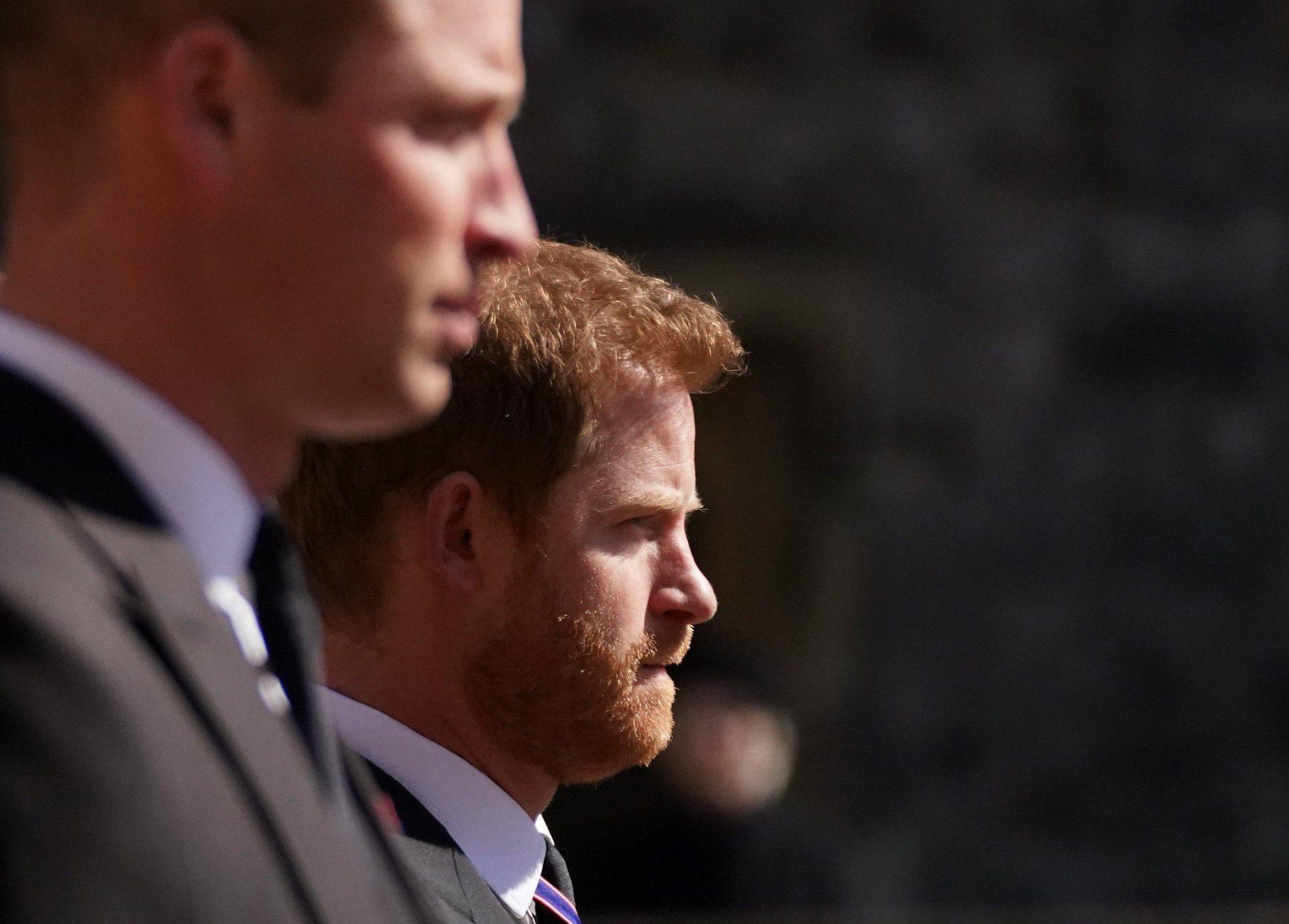 London: Prinzen treffen an Dianas 60. aufeinander Burgfrieden