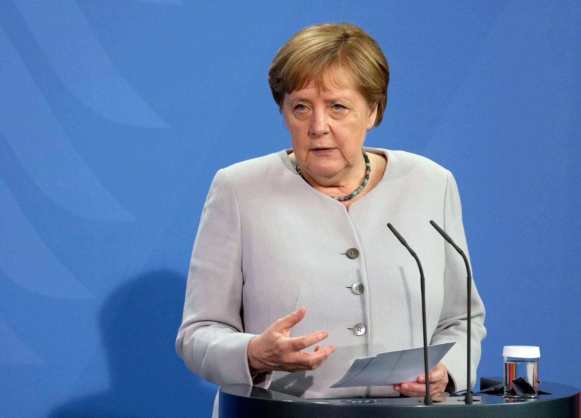 Merkels wohl letzte Regierungserklärung im Bundestag Kanzlerin
