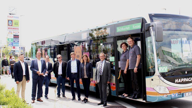 ÖPNV-Angebot im Landkreis Regensburg verbessert Angebotsoptimierung auf den RVV-Linien 30 und 31 und neue Linie 38