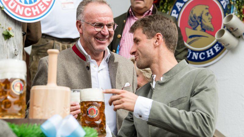 """""""Müller wird bei EM alle überraschen"""" Karl-Heinz Rummenigge traut dem Bayern-Star eine erfolgreiche Europameisterschaft zu"""