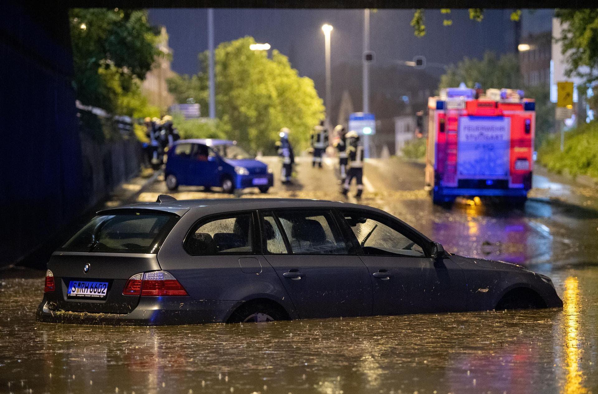 Unwetter in Teilen Deutschlands hält Einsatzkräfte auf Trab Wetter in Deutschland