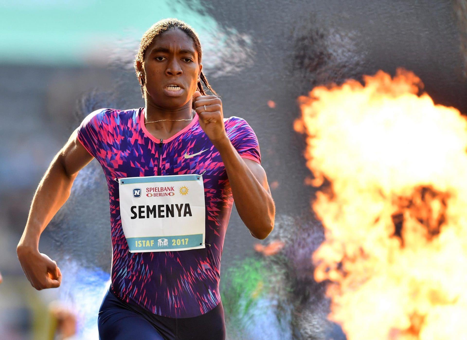 Südafrika-Star Semenya verpasst in Regensburg Olympia-Norm Leichtathletik
