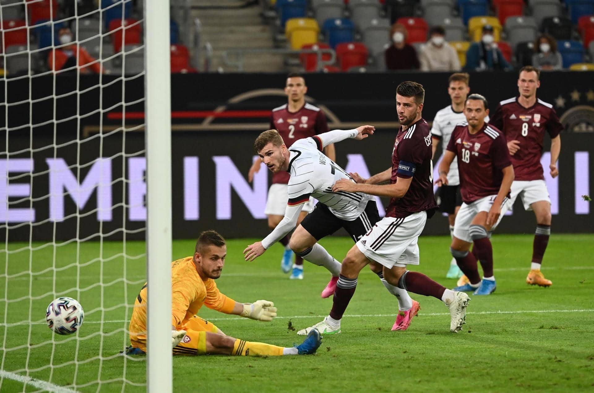 «Viele gute Dinge gemacht»: Offensive DFB-Elf weckt EM-Lust Test gegen Lettland