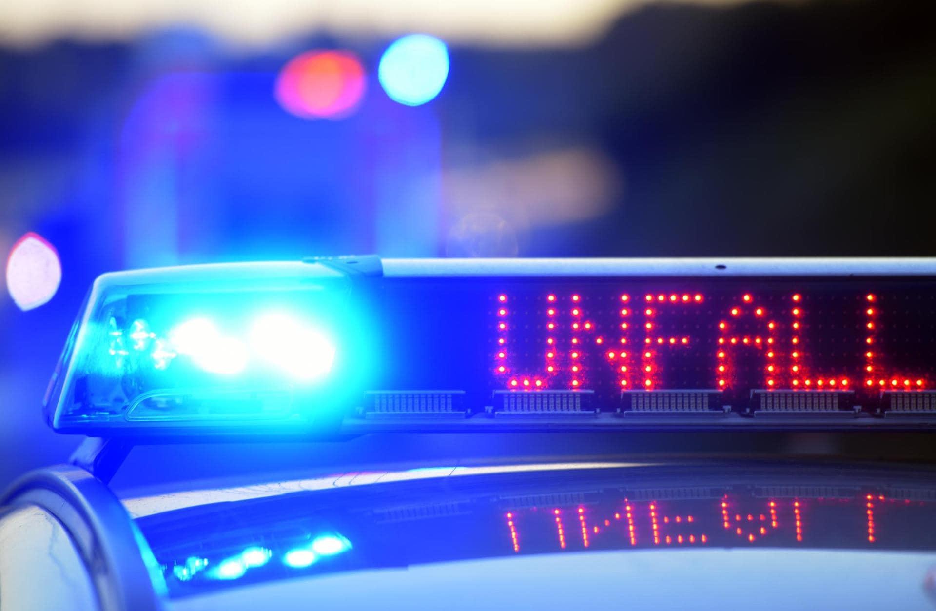Wegen Starkregen: Zwei Unfälle auf der A93 Zu schnell unterwegs