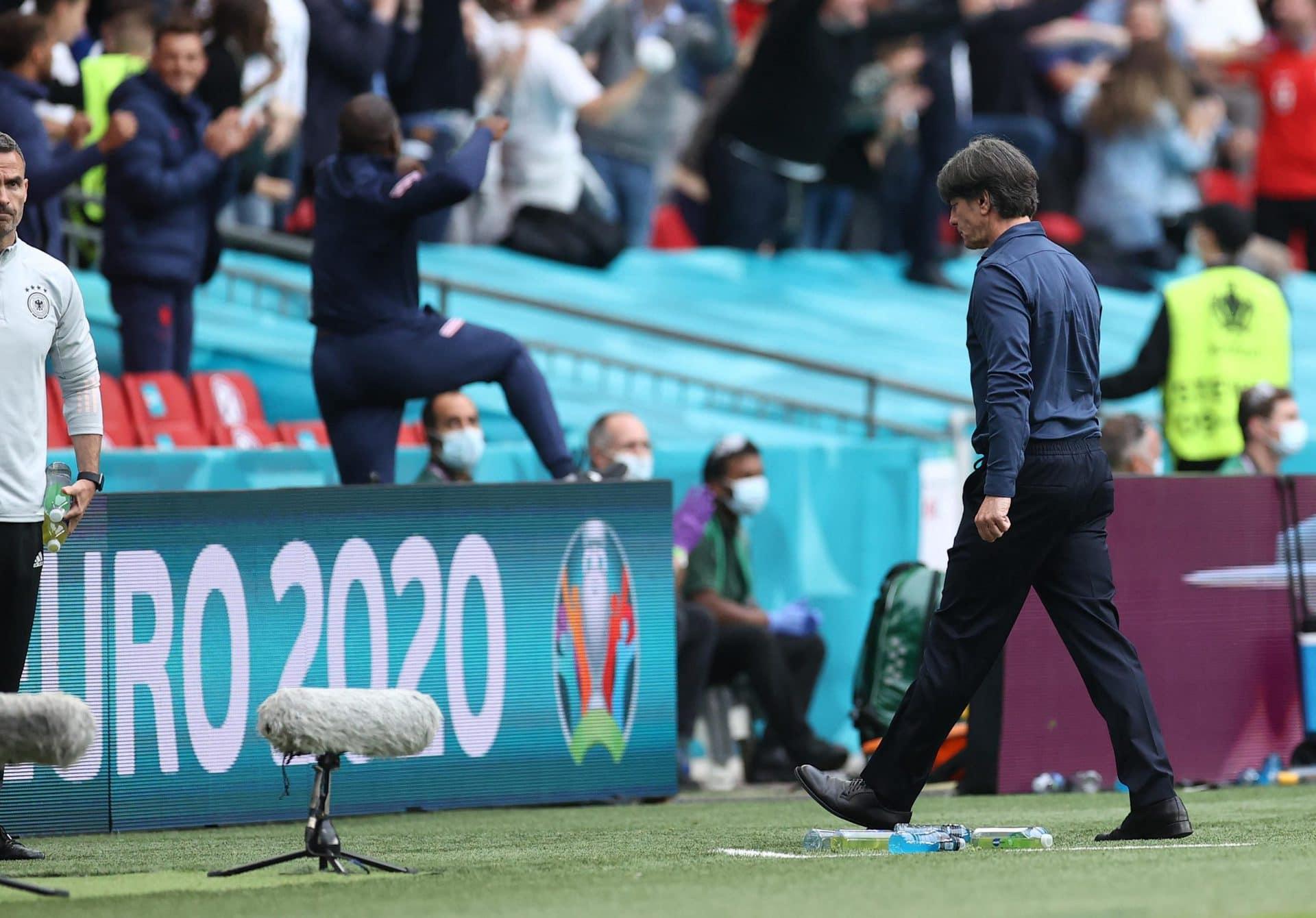 Wembley-K.o.: England schickt Löw in Bundestrainer-Rente Aus im EM-Achtelfinale