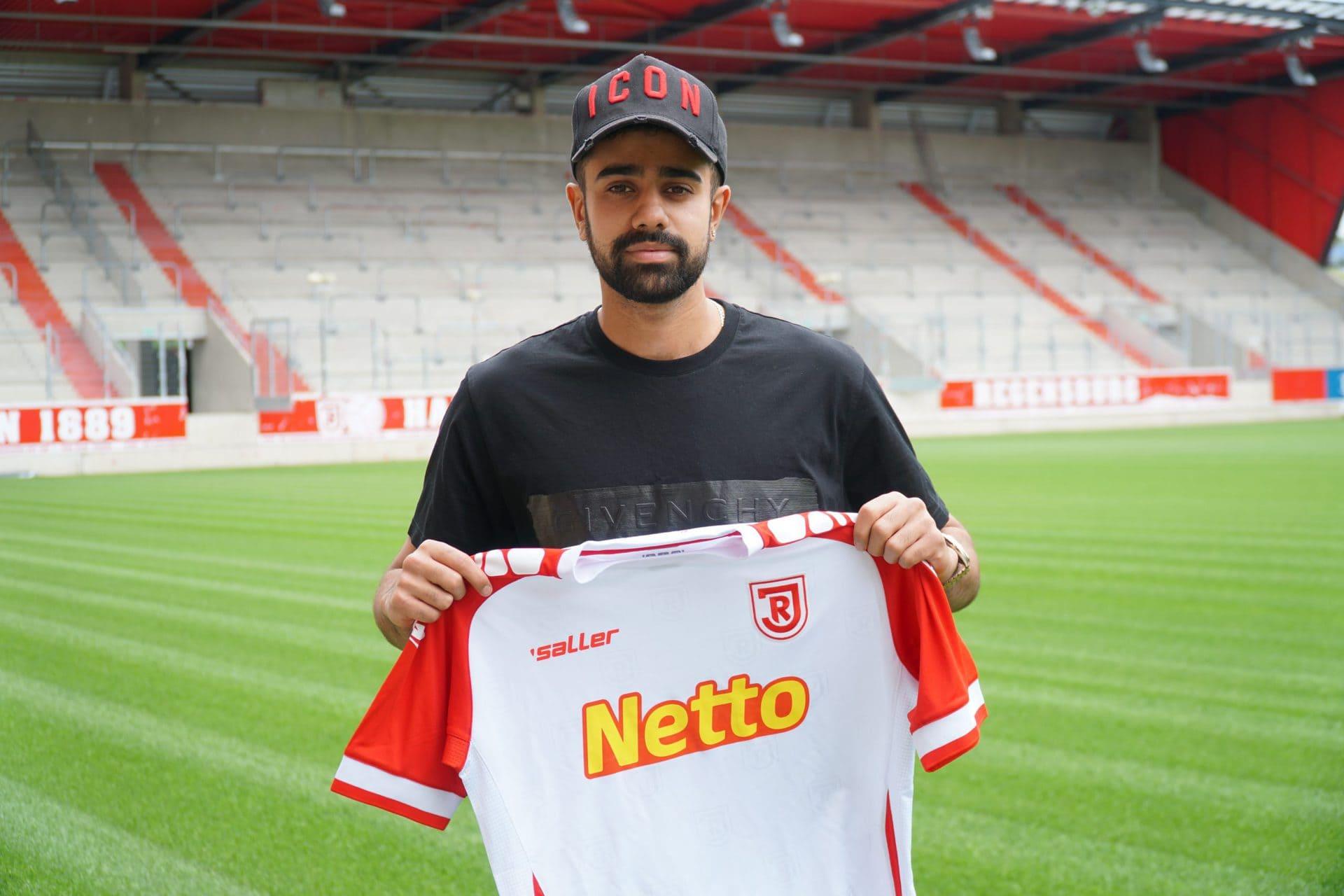 Sarpreet Singh kommt per Leihe vom FC Bayern Jahn Regensburg