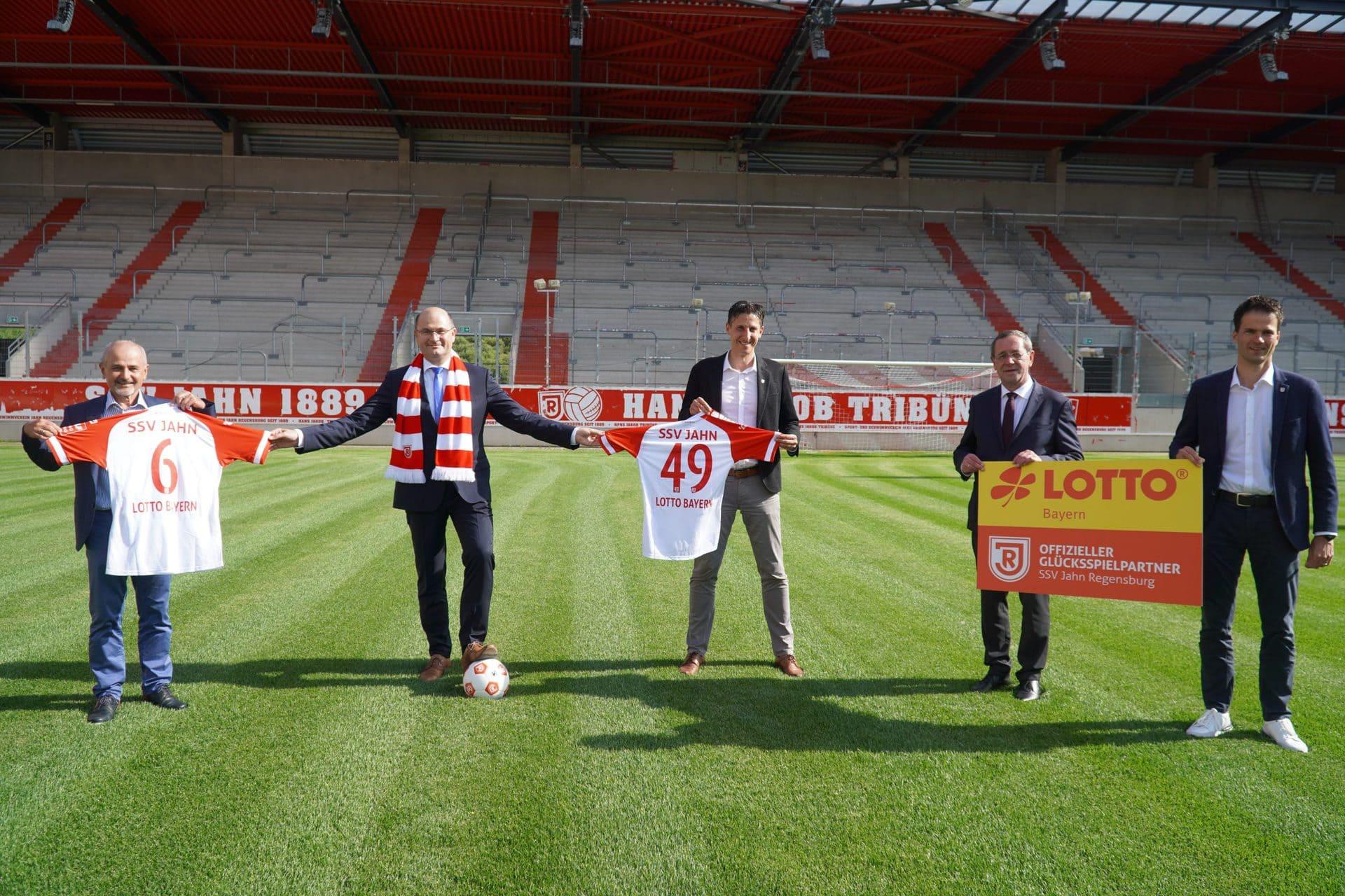 LOTTO Bayern verlängert Sponsoring beim SSV Jahn 2. Bundesliga