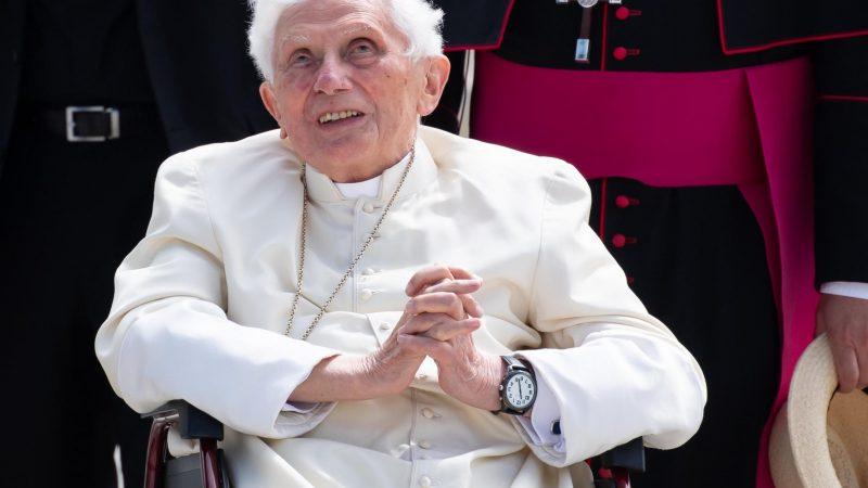Emeritierter Papst Benedikt XVI.
