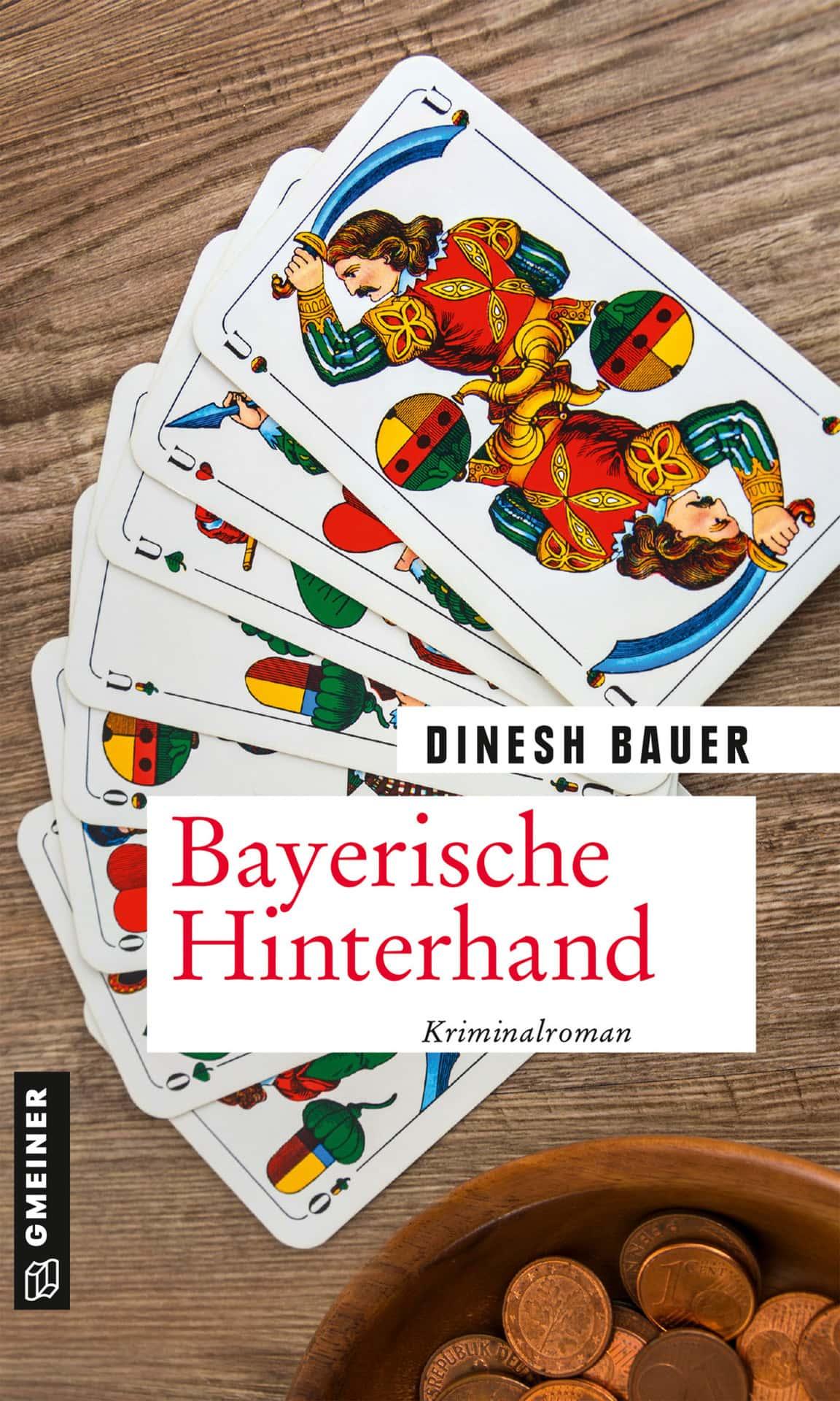 """""""Mit der Herz Sau in der Hand beißt niemand gern ins Gras"""" Blizz verlost drei Kriminalromane """"Bayerische Hinterhand"""" von Dinesh Bauer"""