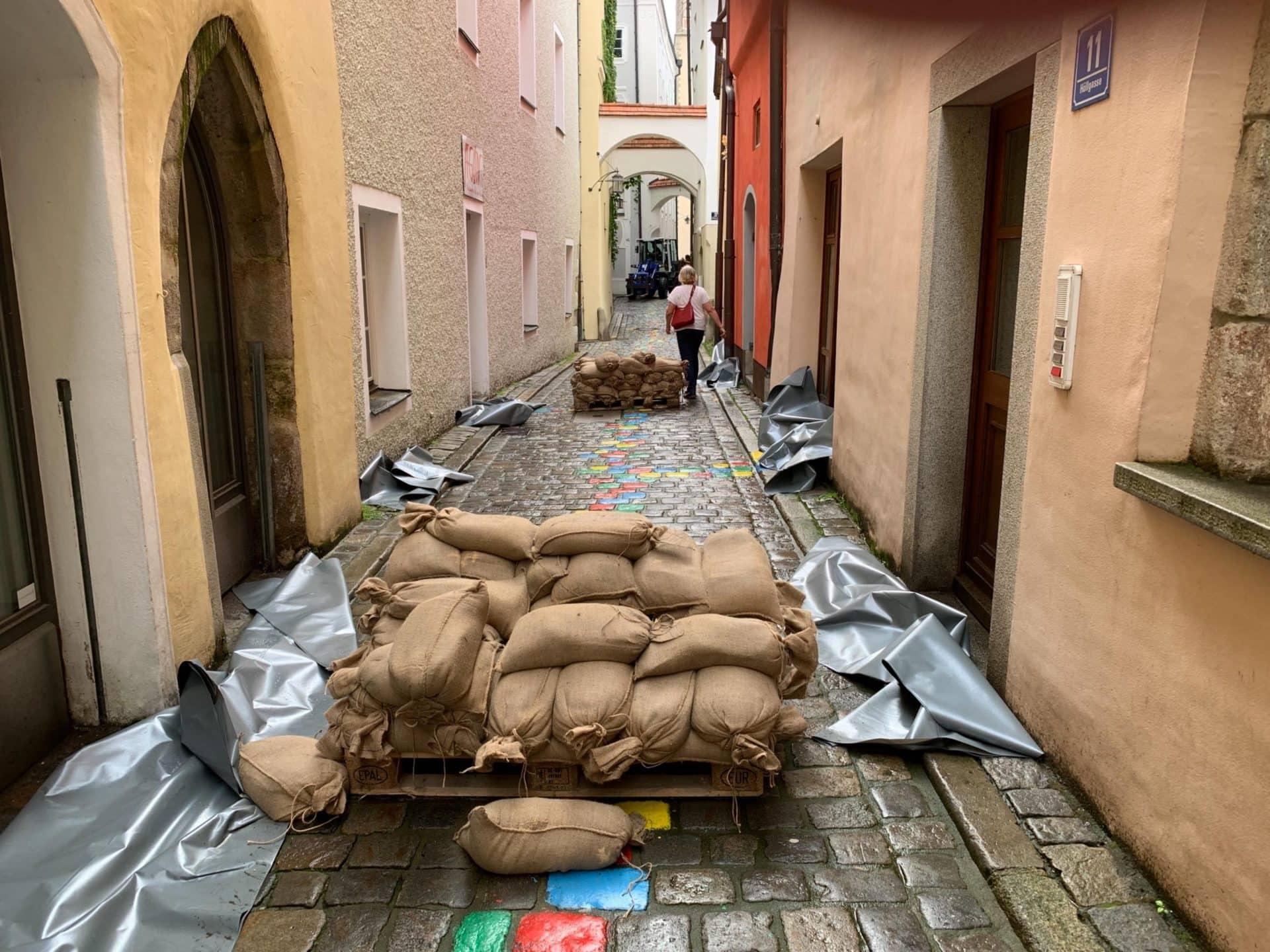 Hochwasserlage entspannt sich etwas Bayern