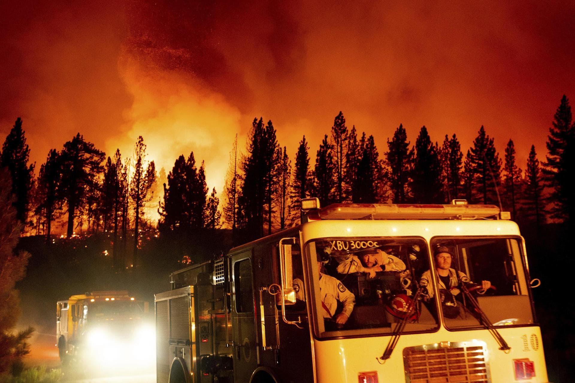 Kampf gegen die Flammen: Kalifornier sollen Wasser sparen Zunehmende Dürre