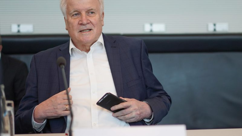 Sitzung des Bundestags-Innenausschusses