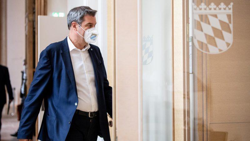 Markus Söder (CSU) kommt in den BayerischenLandtag