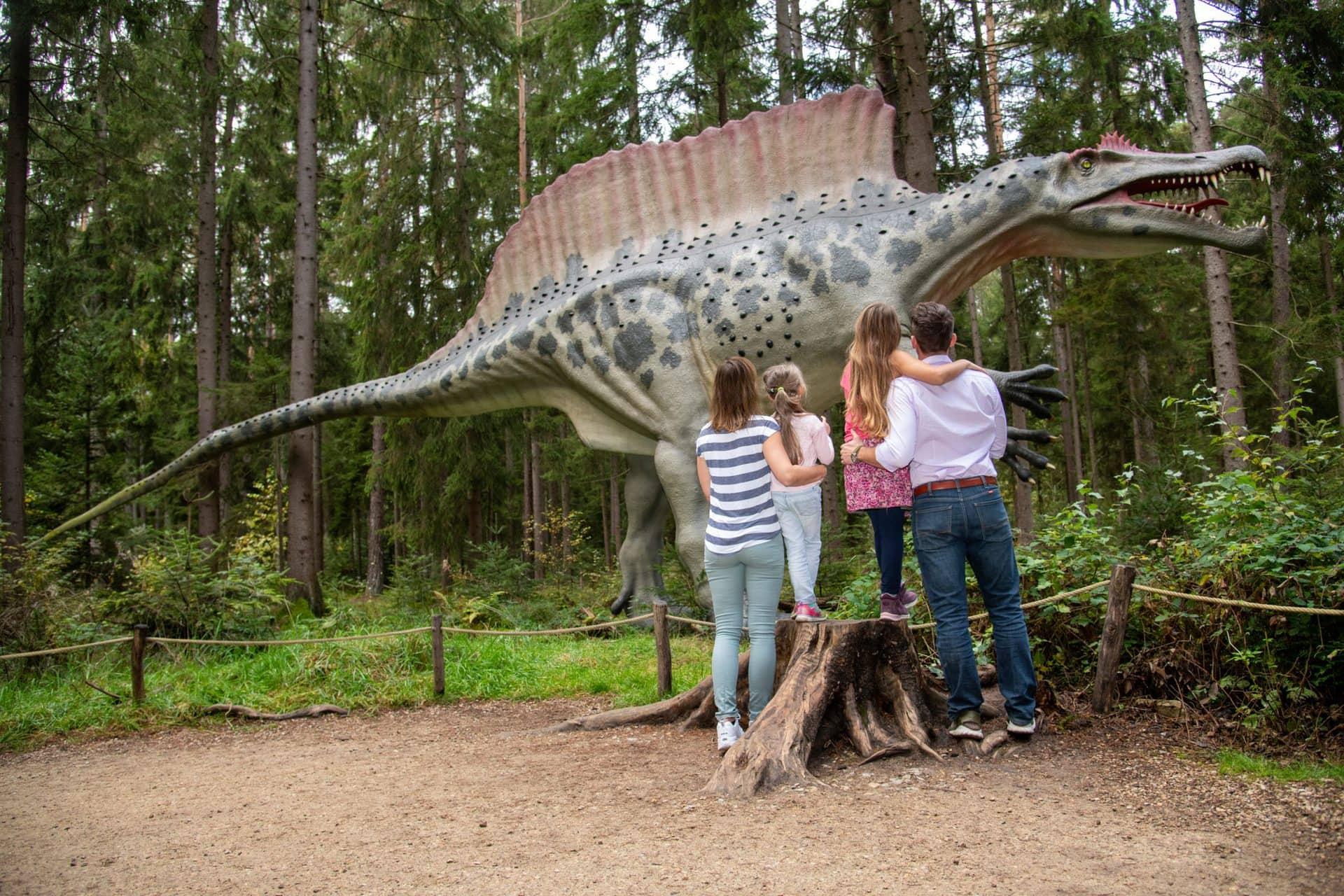 Eine Reise zu den Giganten der Urzeit Wir schicken Sie und Ihre Familie in das Dinosaurier Museum im Naturpark Altmühltal!