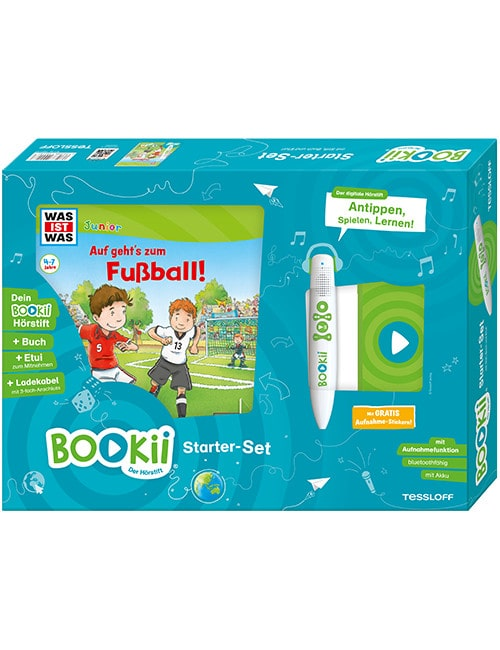"""Ein Muss für alle kleinen Fußball-Fans! Gewinnt ein BOOKii-Starterset """"Auf geht's zum Fußball!"""""""