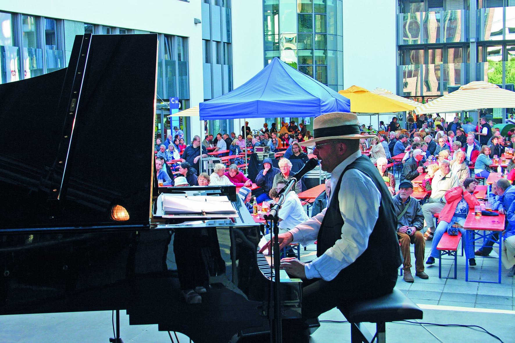 Jazz auf der Piazza im Gewerbepark Bayerisches Jazzweekend
