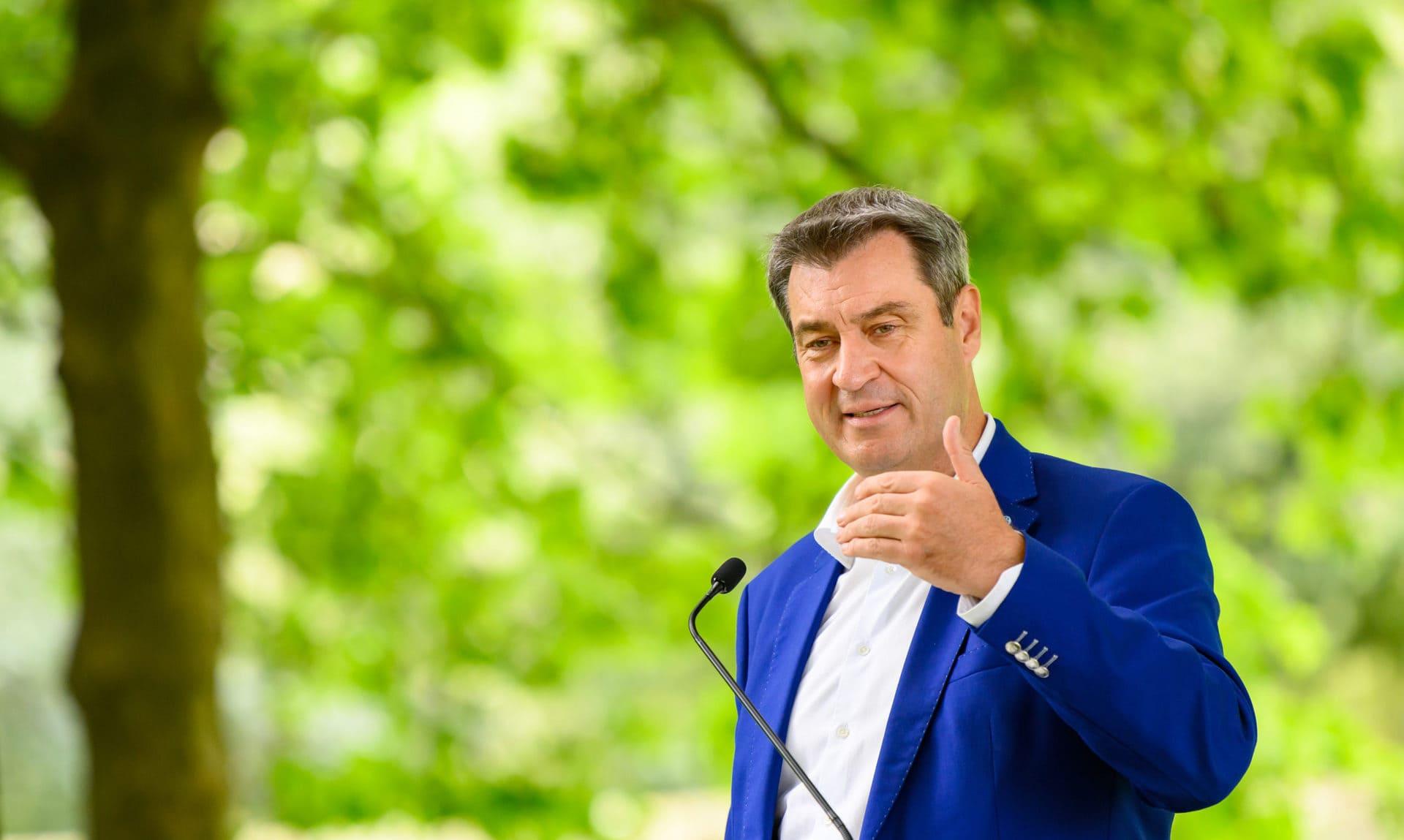 """Markus Söder: """"Der Schutz des Lebens steht an oberster Stelle!"""" Großes Sommer-Interview"""