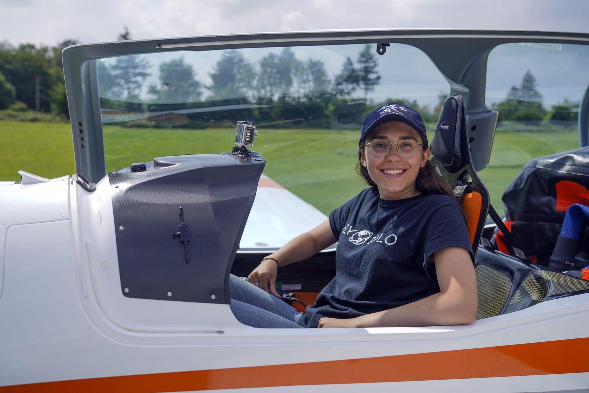 Allein um die Welt: 19-jährige Pilotin will Weltrekord brechen