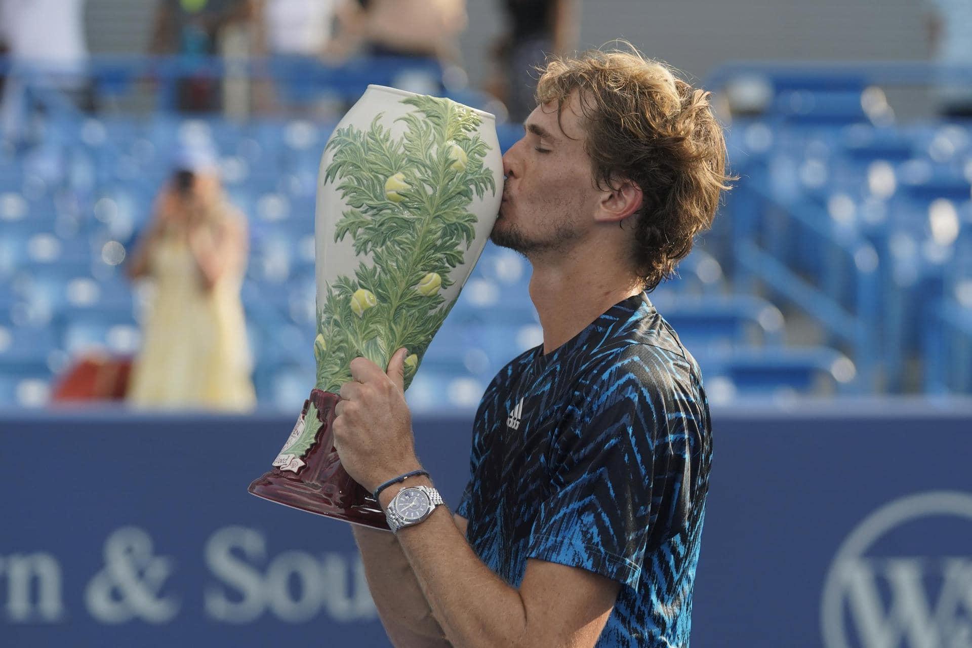 59-Minuten-Sieg: Zverev gewinnt erstmals in Cincinnati Tennis-Masters-Turnier