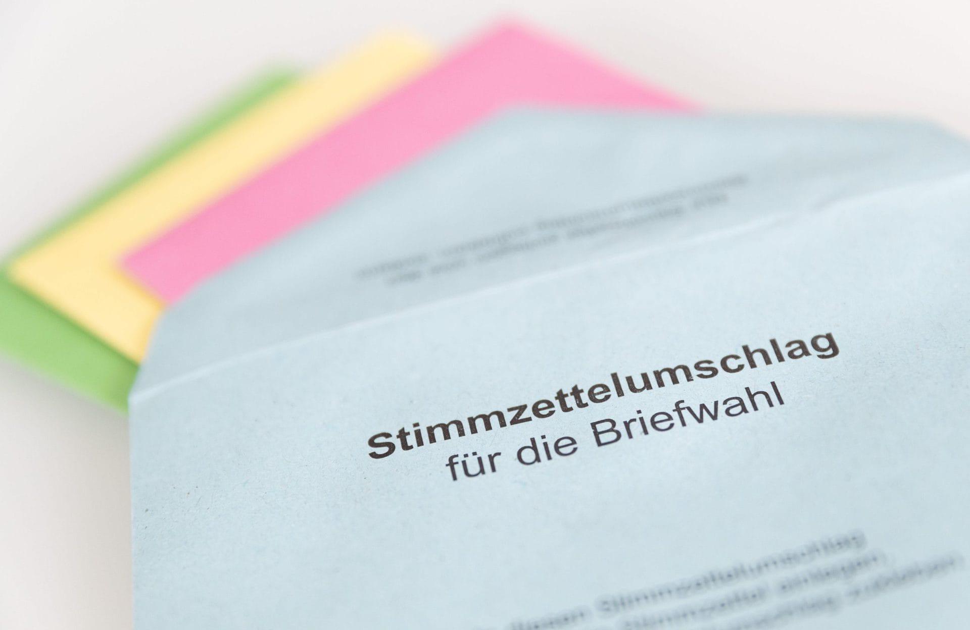 Briefwahl ist ab heute möglich Bundestagswahl