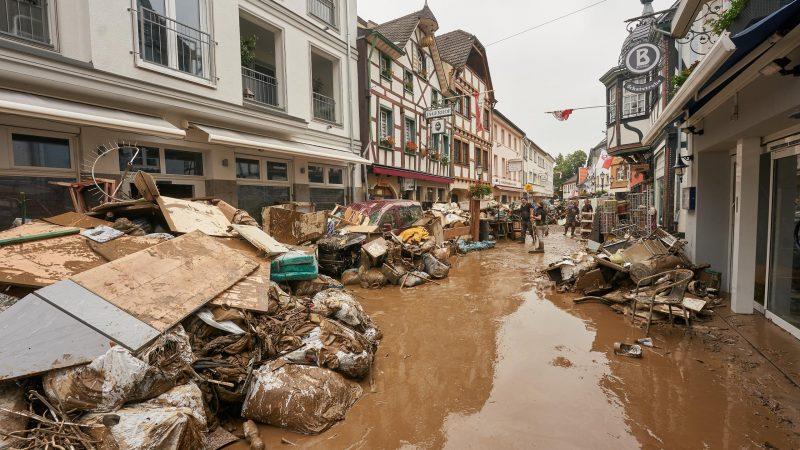 Hochwasserschäden in Ahrweiler