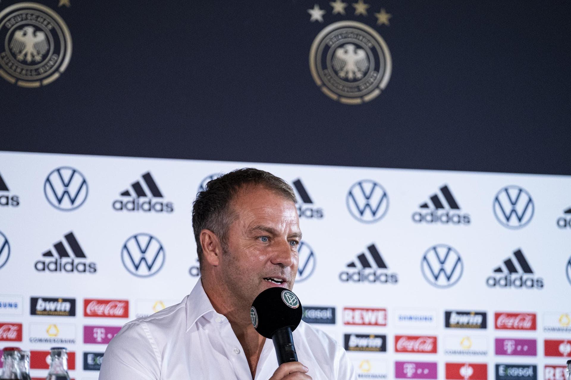 Flick leitet erstes Training – Quali für Katar-WM «ein Muss» Nationalmannschaft