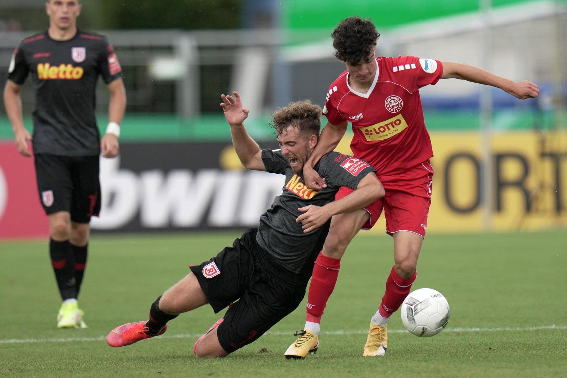 Regensburg im Pokal souverän weiter 3:0-Sieg bei Koblenz