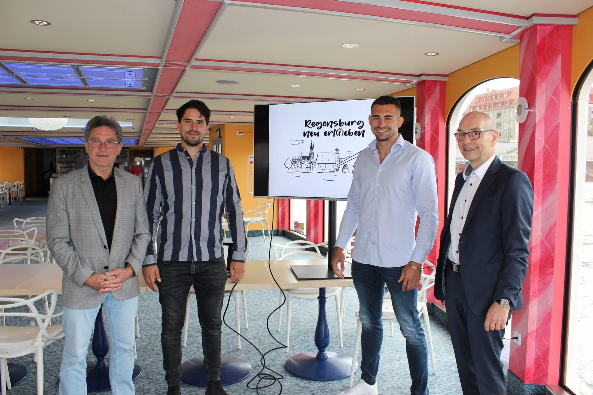 """Stadtmarketing lädt mit Video-Kampagne in die Stadt ein """"Regensburg neu erl(i)eben"""""""