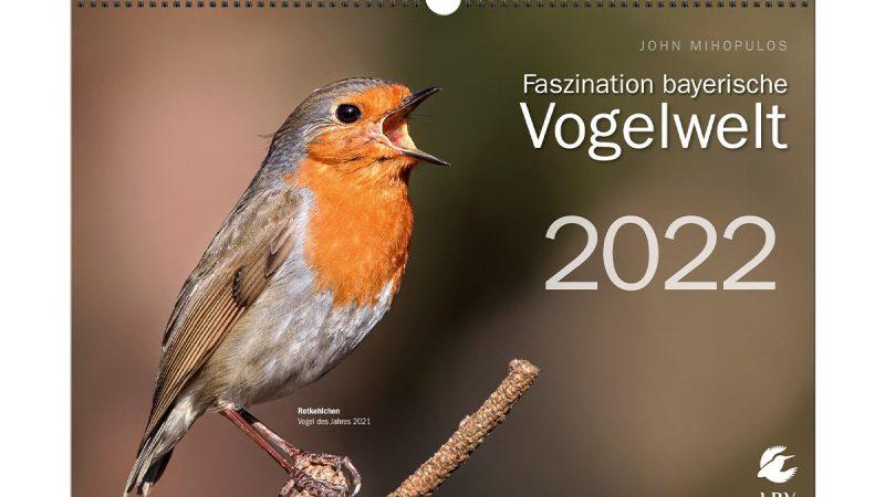 """So schön sind unsere heimischen Vögel Blizz verlost den Kalender """"Faszination bayerische Vogelwelt"""""""