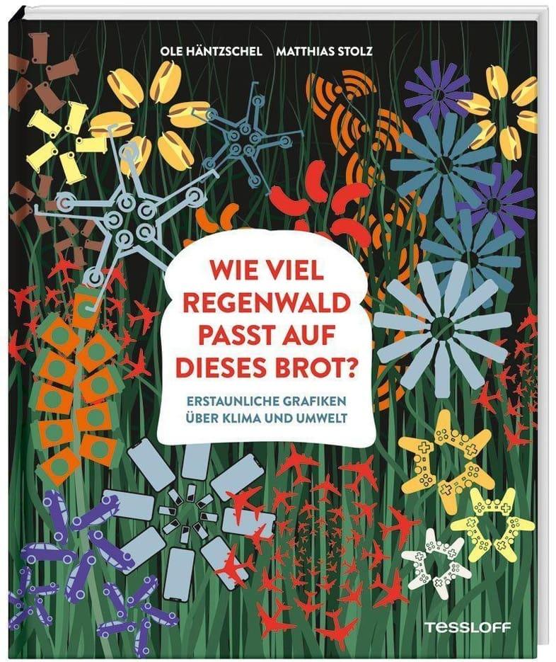 Wie viel Regenwald passt auf dieses Brot? Blizz verlost 3 Ausgaben des Klimabuchs für Kinder aus dem Tessloff Verlag
