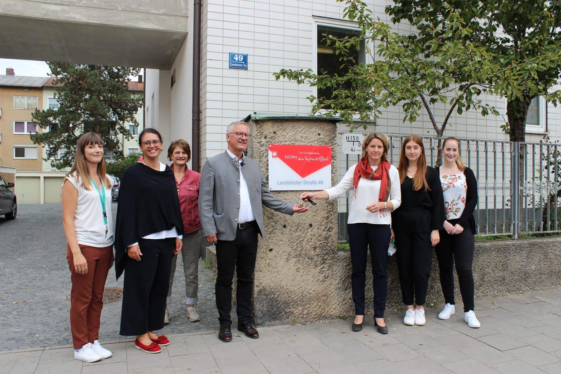 Caritas Regensburg übernimmt UfO Der Verband erweitert seine Kapazitäten für wohnungs- und obdachlose Menschen