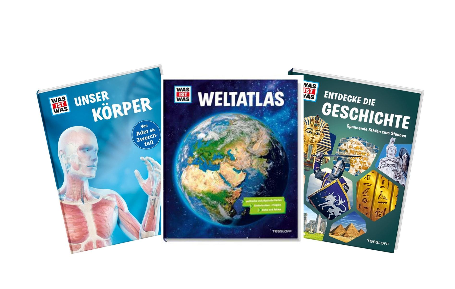 Gewinnspiel zum Weltkindertag am 20. September Blizz verlost drei Bücher aus dem Tessloff Verlag für kleine Forscher