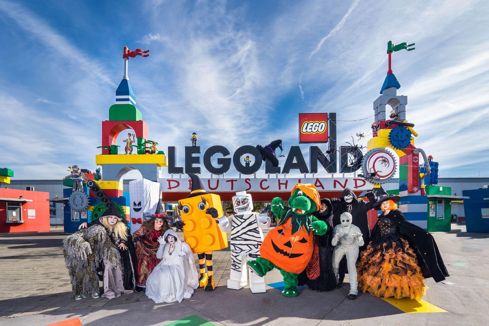 Gruselspaß für die ganze Familie Blizz verlost 2 x 4 LEGOLAND Tageskarten inklusive freiem Parken