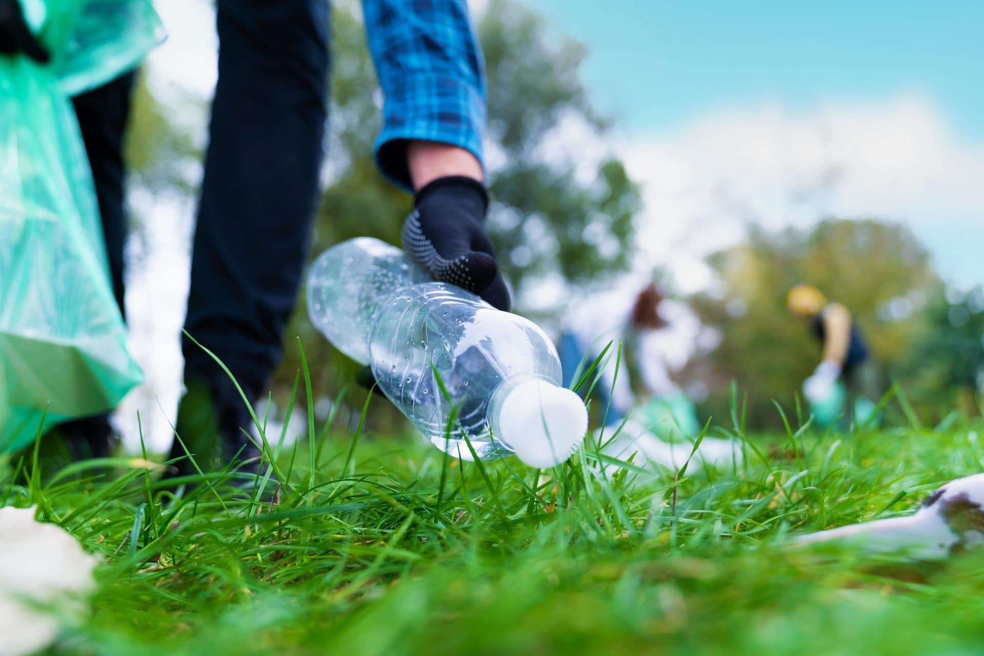 Ein Zeichen setzen gegen Plastik und Müll World Cleanup Day