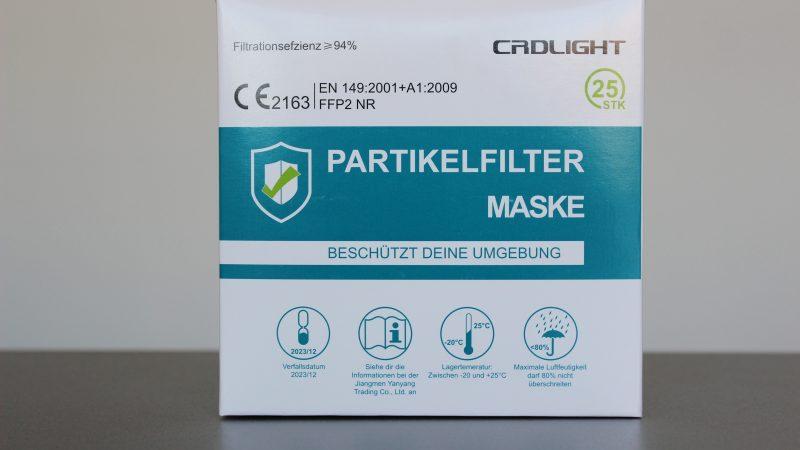 Eine Maske muss man immer parat haben! Blizz verlost daher 15 FFP2-Masken-Pakete